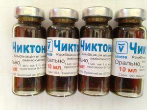 `Chiktonik`: инструкции за употреба кај птиците, опис на препаратот
