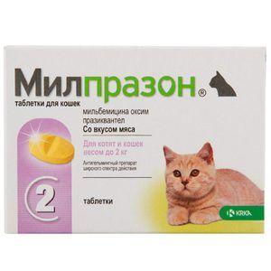 Милпразон таблети за мачки и кучиња