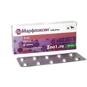 Марфлоксин таблети за кучиња и мачки
