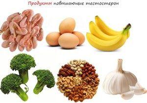 Листа на производи кои го зголемуваат тестостеронот кај мажите